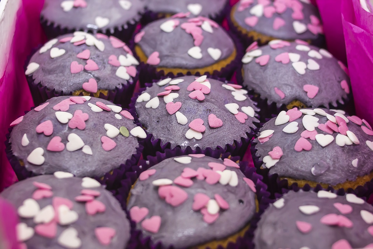 cupcakes, muffins, sweet
